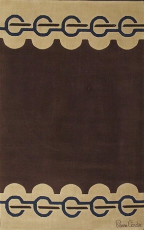 Large Rug By Pierre Cardin