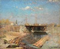 porto bretone by charles cottet