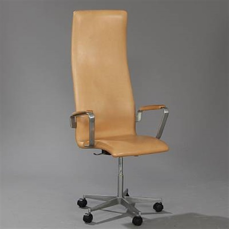 oxford swivel chair model 3292 by arne jacobsen