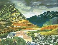 maumturc mountains, connemara by luke piper
