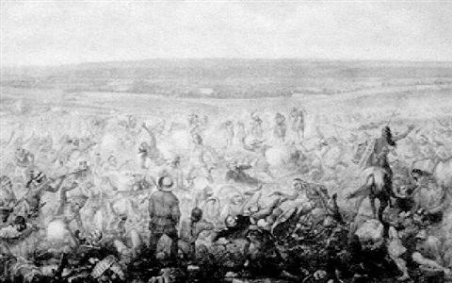 custer's last fight by f. otto becker