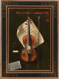 the old violin by w.g. becker