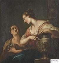 rebecca am brunnen by giovanni battista piazzetta