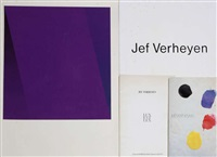 sans titre (4 work +1 other; 5 works) by jef verheyen