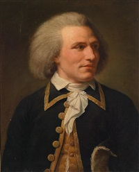 bildnis eines marineoffiziers by lemuel francis abbott