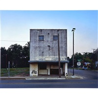 elm street theater, waco, texas by alec soth