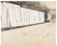 wrapped monument to farel-calvin-beze-knox by christo and jeanne-claude