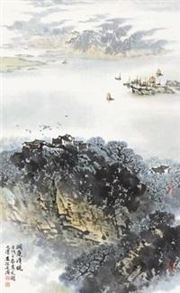 洞庭清晓 by song wenzhi