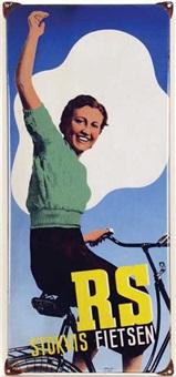 rs stokvis fietsen by johan m. moerkerk
