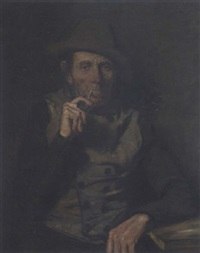 alter bauer by ludwig (louis) rach
