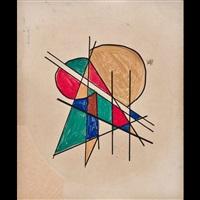 composizione astratta by petr efimovich sokolov