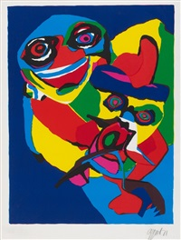 ohne titel by karel appel