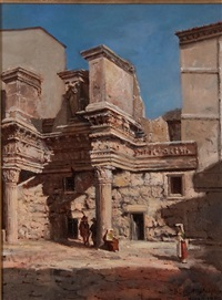 figures amongst ruins by w. livingston anderson