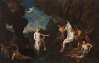 diana and callisto by filippo lauri