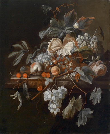 früchtestillleben by simon pietersz verelst