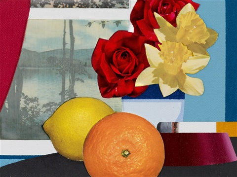 still life collage edition ica 31 by tom wesselmann