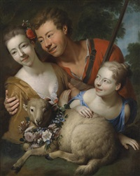ein schäferidyll by richard (risaert van) bleeck