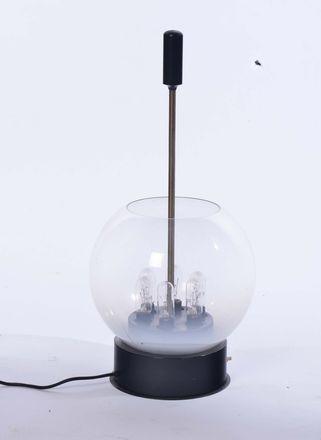 lampada da tavolo modello 593 by gino sarfatti