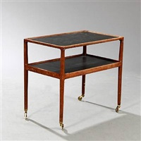 serving cart by helge vestergaard jensen