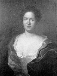 porträt einer jungen dame by herman hendrik quiter the younger