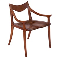 evans chair by sam maloof