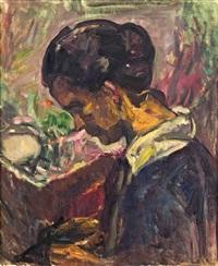 damenporträt by broncia koller-pinell