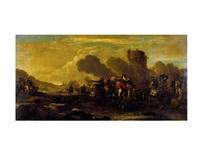 escena de batalla by jacques courtois