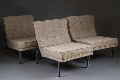 Fauteuils modèle Parallel Bar 3 works by Florence Knoll on ...
