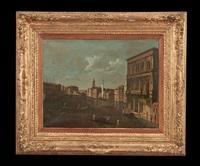 venetian canal scene by bernardo bellotto