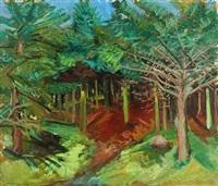 forest scene by jens andersen sondergaard