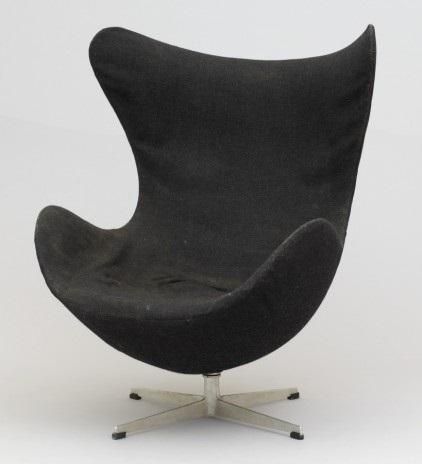 ägget (the egg chair) (model 0563) by arne jacobsen
