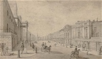 regent street, london by thomas hosmer shepherd