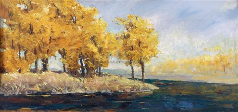 autumn scenery by ai zhongxin