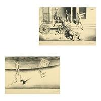 efter os kommer syndfloden and fredfuglenes smukke vogterske (2 works) by wilhelm freddie