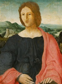 porträt eines jungen mannes vor weiter landschaft by anonymous-italian (16)