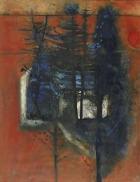 house in the trees by robert henderson blyth