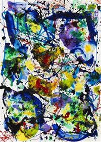 untitled (sf86-078) by sam francis