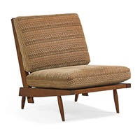 cushion lounge chair by george nakashima