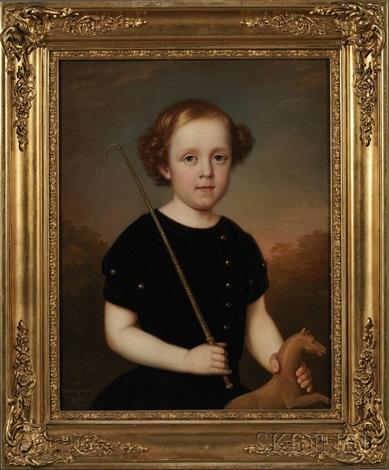 portrait of anselm lundell by carl vilhelm nordgren