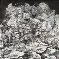 枯山老树 (landscape) by hong ling