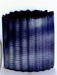 rippled vase by beate andersen