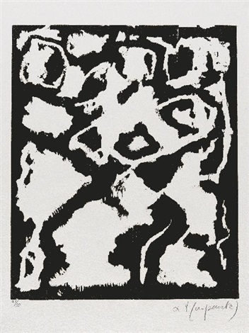 komposition from 8 erfahrungen by ar penck