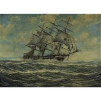 a sailing ship by robert j. lie