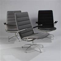 three armchairs (model 38/39) by jens ammundsen