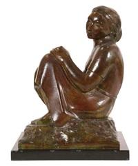 femme assise by willem aerden