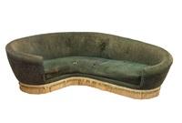 grande divano curvo by federico munari