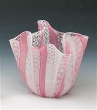 taschentuch-vase zanfirico by fulvio bianconi