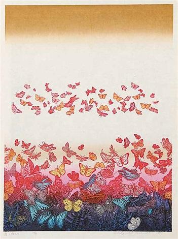 untitled butterflys by chizuko yoshida