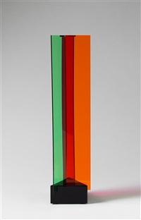 transchromie à trois éléments 2011 by carlos cruz-diez