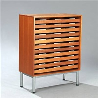archive cupboard by henning jensen and torben valeur